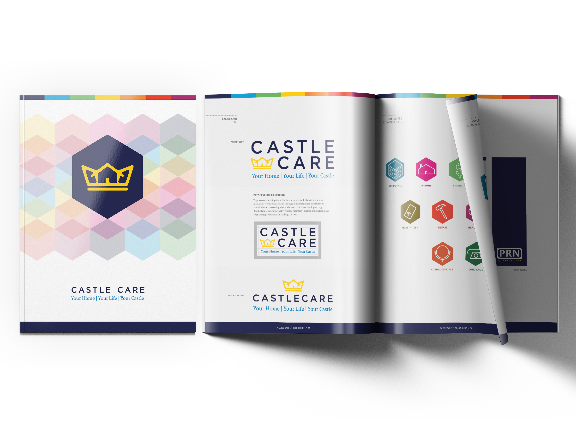 Castle Care Brand book
