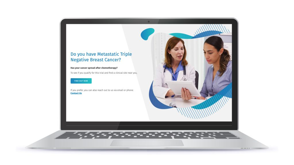 Amarex Clinical Trial Microsite